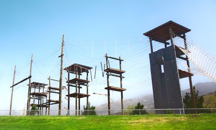 CSUSB Leadership Challenge Center - Cal State University San Bernardino: $21 for a Four-Hour Ropes Course at CSUSB Leadership Challenge Center ($42 Value). Six Options Available.