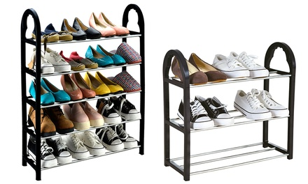 One or Two Keplin Compact Shoe Racks