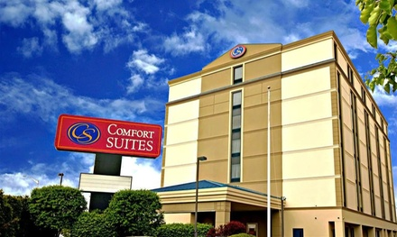 Stay at Comfort Suites Woodbridge in Avenel, NJ. Dates into March.