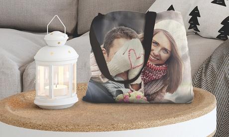 1, 2, 3 o 4 bolsas de tela con imagen personalizable en formato 40 x 40 cm desde 7,99 € en Photo Gifts