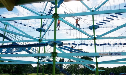 High Ropes Adventure and Attractions at Aerial Entertainment (Up to 40% Off)