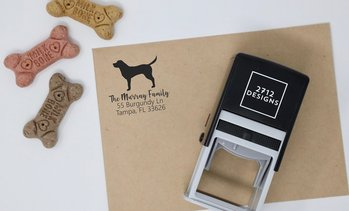 Up to 67% Off Custom Pet Stamps from 2712 Designs