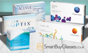 Smart Buy Glasses: £30 Toward an Online Order of Contact Lenses at SmartBuyGlasses (50% Off)