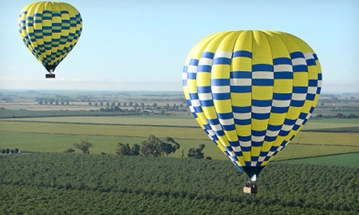 Aerostat Adventures - Cental Napa: $179 for a One-Hour Hot Air Balloon Flight from Aerostat Adventures (Up to $320 Value)