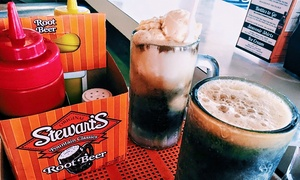 Stewart's Root Beer of Hamilton: American Food at Stewart's Root Beer of Hamilton (Up to 40% Off). Three Options Available.