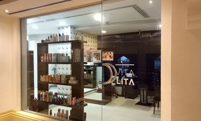 Cut and Blow-Dry with Optional Root Colour or Highlights at Vita Lita Salon at Habtoor Grand Hotel at Dubai Marina