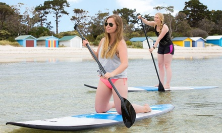 Hire: 1-Hr SUP for 1 ($19) or 2 ($35), 2-Hr Kayak for 2 ($35) or 4-Hr Kayak or SUP for 2 Ppl ($49), Extreme Watersport