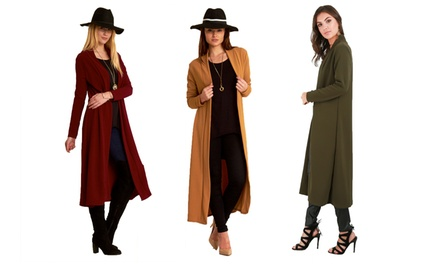 Bejealous Open Maxi Cardigan Coat
