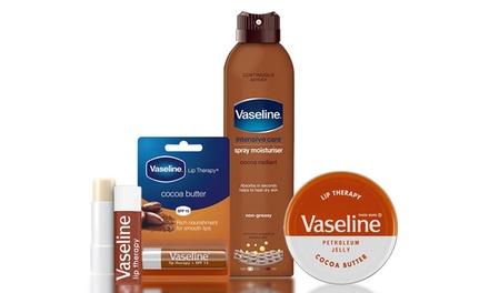 Set prodotti corpo e labbra Vasline