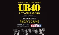 UB40 at the Races, 30 June at Newcastle Racecourse