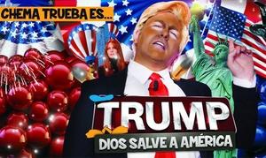 """Súper 8 - Cine de la Prensa: Entrada al espectáculo """"Show Trump"""" del 31 de marzo al 16 de junio por 10 € en Cine de la Prensa"""
