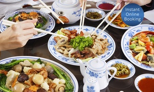 Tasting China: $25 or $49 to Spend on Chinese Food and Drinks at Tasting China (Up to $100 Value)