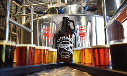 image for Beer Bundle for Two, Four, or Six at Motorworks Brewing (Up to 49% Off)