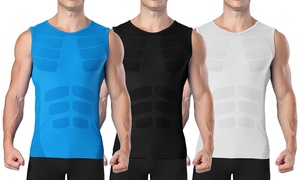 XFIT Men's Compression Shirt with Targeted Compression