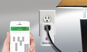 Smart WiFi-Controlled Wall Outlet