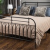 Amalia Charcoal Iron Queen Bed Frame