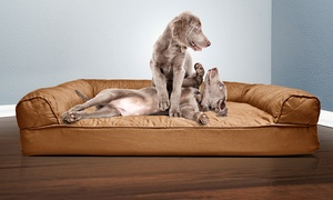 Furhaven Deluxe Quilted Sofa-Style Orthopedic Pet Bed  at Furhaven Deluxe Quilted Sofa-Style Orthopedic Pet Bed , plus 9.0% Cash Back from Ebates.