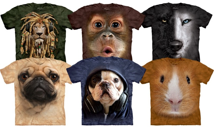 83c0e3a116d7 Unisex 3D Effect Animal T-Shirts | Groupon Goods