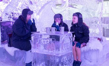 Ice Lounge Entry, Snack and Drink: Child (AED 31) or Adult (AED 59)