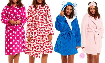Women's Fleece Robes for £11.99