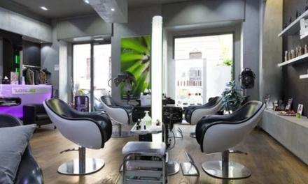 Manicure, pedicure, smalto semipermanente e ricostruzione al salone New Glamour Parrucchieri (sconto fino a 39%)