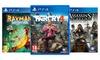 Vari videogame Ubisoft per PS4
