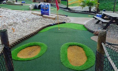 image for 18 Holes of Mini Golf for Up to Four or a Family at Captain's Bay Adventure Golf