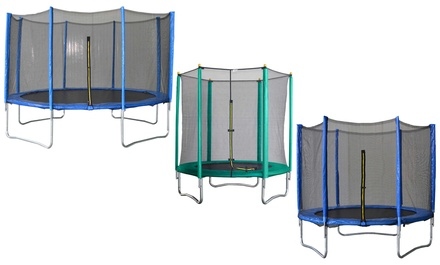 Velocity AirKing Trampoline and Enclosure in Choice of Size With Free Delivery