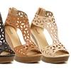 Bucco Lachance Women's Wedge Sandals