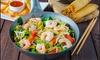 Buffet à volonté pour 2 personnes aux saveurs d'Asie à 24,90 € au Restaurant Le Gourmet