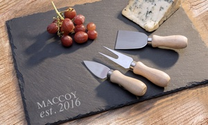 Personalized Slate Trays and Home Decor