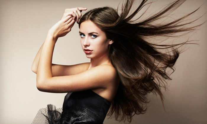 blast blowdry - Rosedale: Deep-Conditioning Treatment, Scalp Massage, and Blowout or a Special-Occasion Updo at blast blowdry (51% Off)