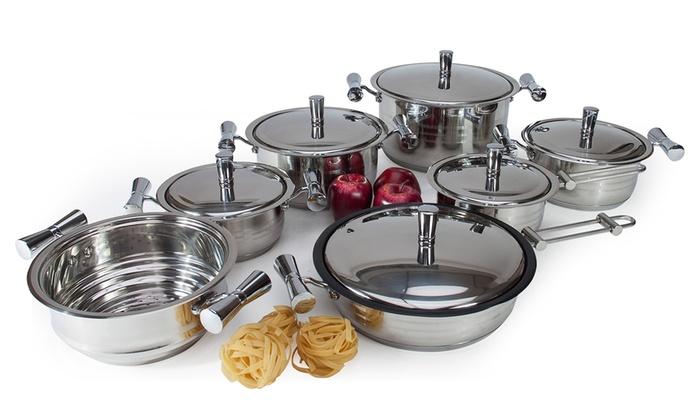 Batteria da cucina professionale groupon goods - Batteria da cucina imco ...