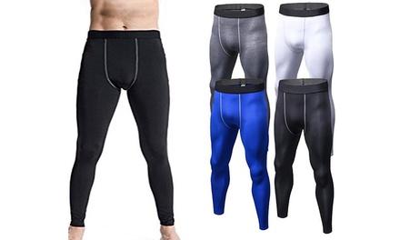 1 ou 2 pantalons de compression pour hommes