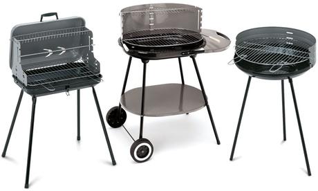 Barbacoas de carbón de acero esmaltado Oferta en Groupon