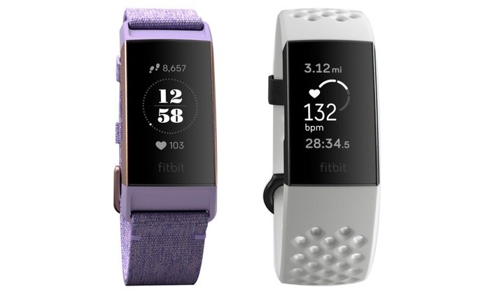 Up To 18% Off on Fitbit Charge 3 Fitness Tracker | Groupon Goods