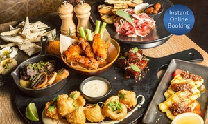 Walrus Social House: Sharing Platter for 2-4 People with 5 ($59) or 8 Tapas ($99) at Walrus Social House (Up to $125 Value)