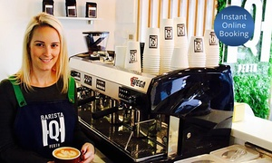 Barista Hq: Five-Hour Barista Course for One ($99), Two ($189) or Four People ($375) at Barista HQ (Up to $796 Value)