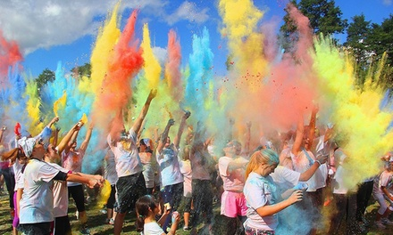 One or Two Entries to ColorMy5K on Saturday, April 29, 2017 (Up to 61% Off)