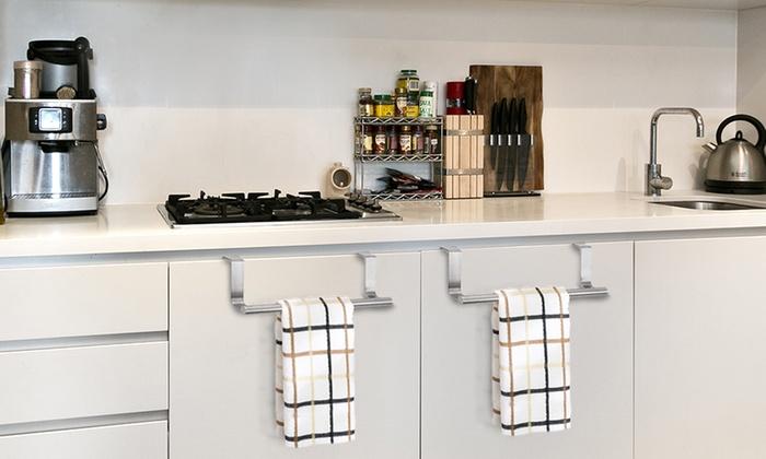 Barra appendi asciugamani da cucina groupon goods - Barra attrezzata cucina ...