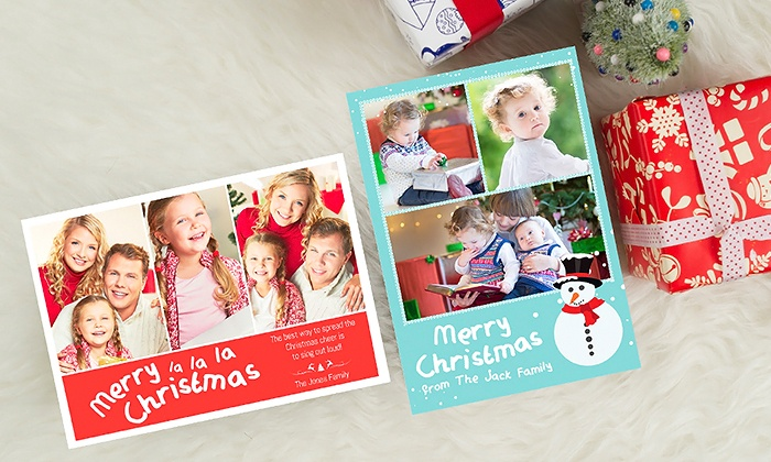 Photobook canada in groupon 20 50 or 100 custom flat or folded greeting cards from photobook canada m4hsunfo