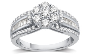 1.00 CTTW Diamond Engagement Ring by DeCarat