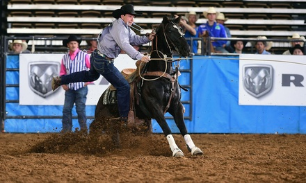 RAM National Circuit Finals Rodeo on Friday, April 9 or Saturday, April 10