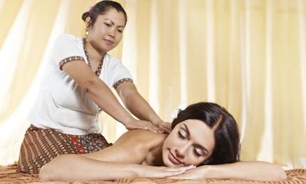 Modelage thaï pour femme enceinte d'1h ou modelage thaï avec gommage d'1h30 dès 49 € à l'institut Diora Beauté