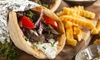 Pitah - Westside: Greek Cuisine and Drink Experience for Two or Four or $100 worth of Greek catering (Up to 42% Off)