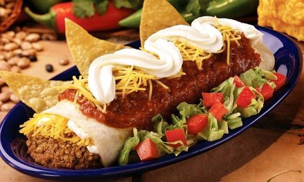 $12 for Four Groupons, Each Valid for $6 Worth of Mexican Food at Taco Time ($24 Value)