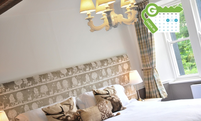 Yorkshire Dales: Stay for Two with Breakfast, Dinner and Wine at New Inn Hotel