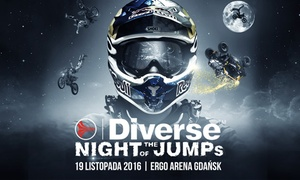 Diverse Night of The Jumps: Od 49 zł: bilet na Diverse Night of The Jumps 2016 – Mistrzostwa Świata we Freestyle Motocrossie w Ergo Arena w Gdańsku
