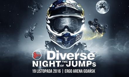 Od 49 zł: bilet na Diverse Night of The Jumps 2016 – Mistrzostwa Świata we Freestyle Motocrossie w Ergo Arena w Gdańsku
