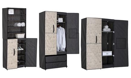 Jocca Clothing Cabinet Wardrobe and Shoes Racks